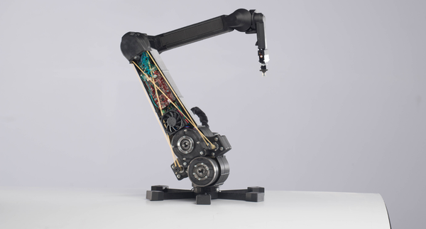 haddington dynamics robotic arm markforged