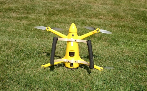 image 3 The Snotbot outfitted with its new Kevlar-reinforced landing gear