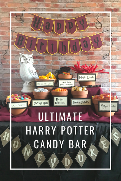 How to setup the Ultimate Harry Potter Candy Bar