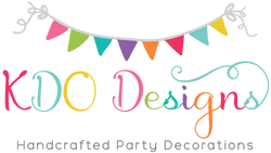 KDO Designs Handcrafted Party Decorations
