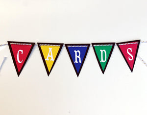 """Cards"" Graduation Banner"