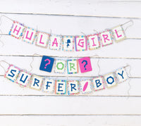 Hawaiian Theme Gender Reveal Party