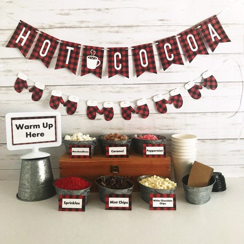 Hot Cocoa Bar Package