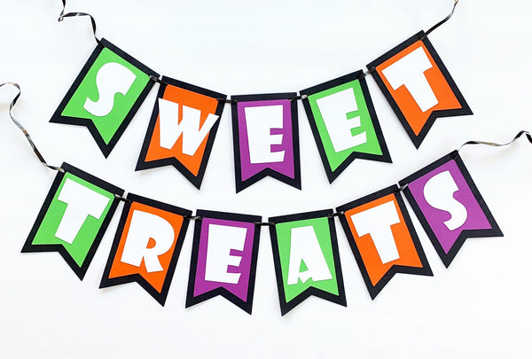 Halloween Dessert Table Banner