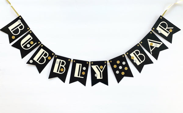 """Bubbly Bar"" Banner"