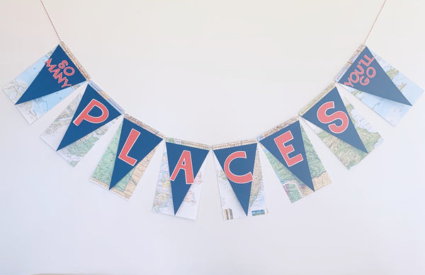 """So Many Places You'll Go"" Banner"