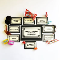 Sweet Easy Graduation Party Candy Bar