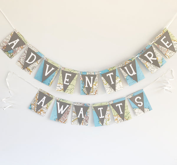 """Adventure Awaits"" Banner"