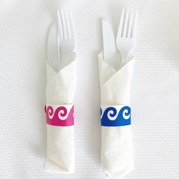 Hawaiian Napkin Rings, set of 20