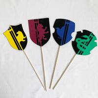 Boy Wizard Party Centerpiece Sticks