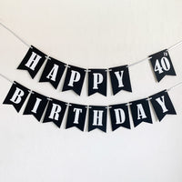 "Adult ""Happy Birthday"" Banner"