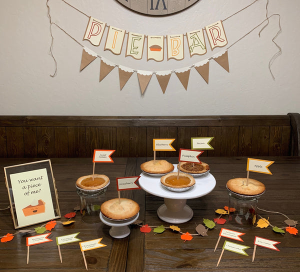Pie Table Decor Kit