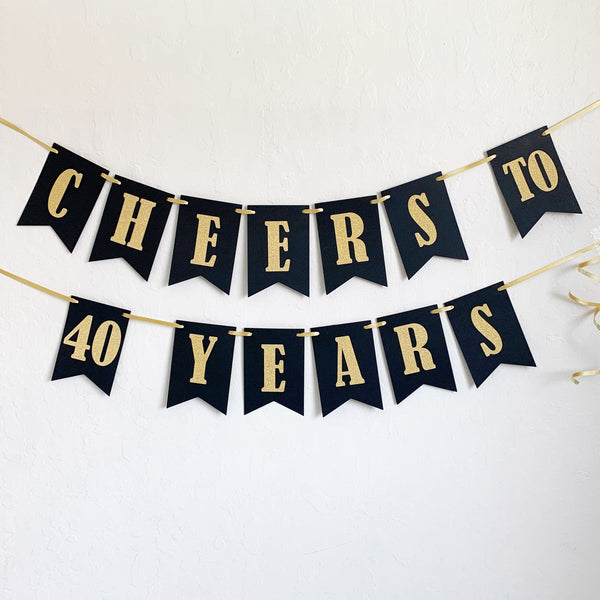 Cheers Birthday Banner for Adults