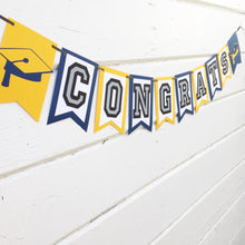 "Load image into Gallery viewer, ""Congrats"" Graduation Banner"