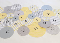 Cute as A Button Table Runner
