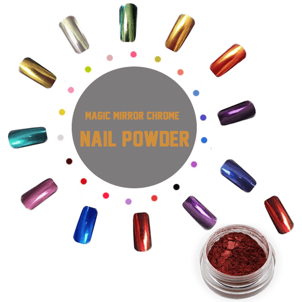 Magic Mirror Chrome Nail Powder - makegoodies