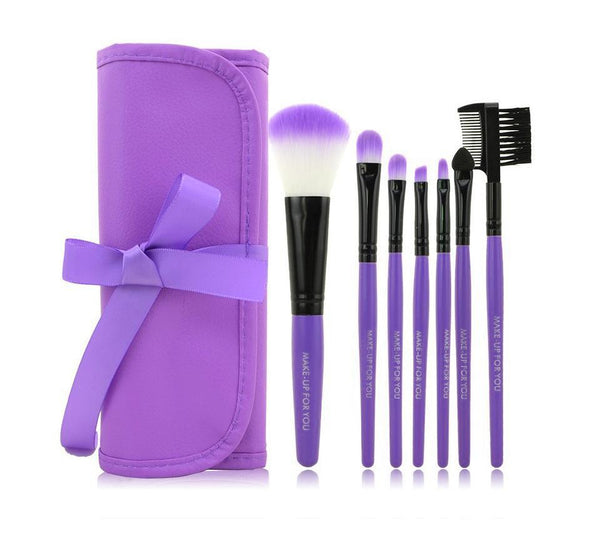 Multi-functional 7 Pieces Makeup Brush Set
