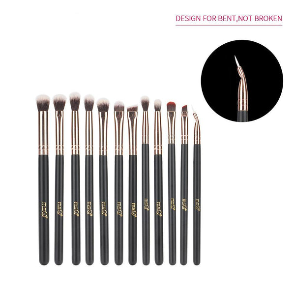 Natural Wood Eye Makeup Brushes