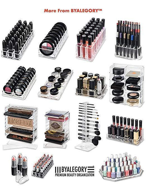 Eyeshadow Makeup Palette Organizer (Small Sized Palettes) | 8 Space Cosmetic Storage