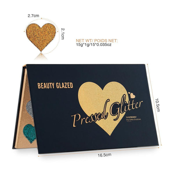 BG Pressed Water-proof Glitter Palette