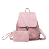 Retro Ladies Fashion College Style Travel Bookbag