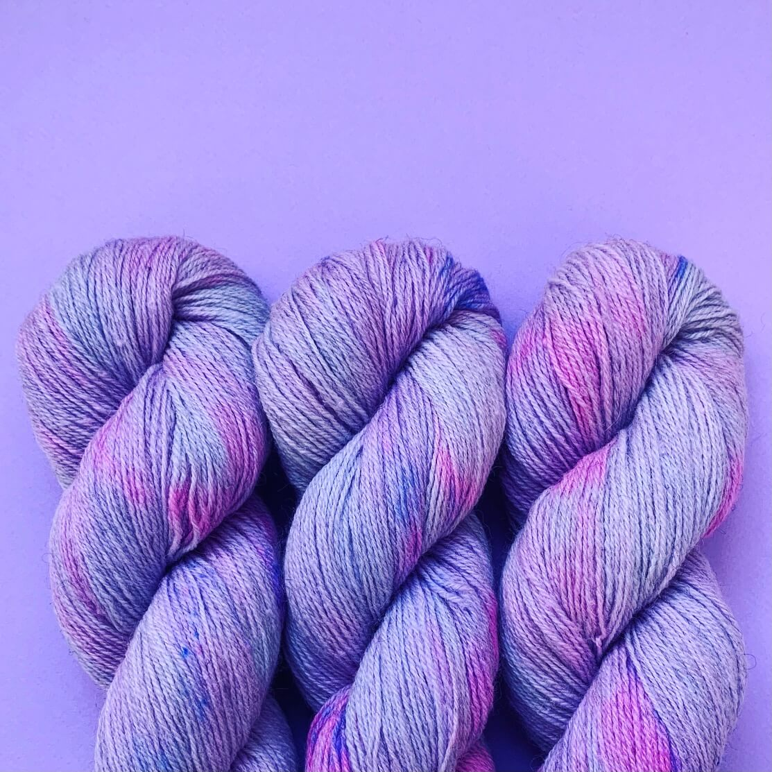 Romney Sock - Pennyroyal