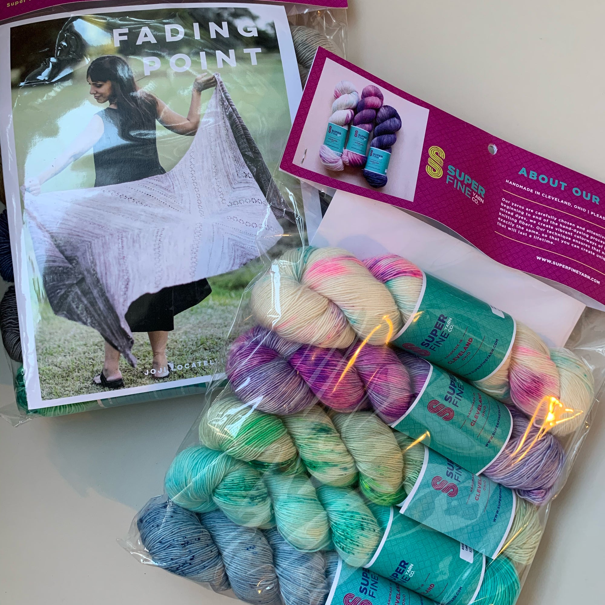 Fading Point Kit - Neon Angel/Arabella/Limeaid/Dreamboat/Bunny Slope