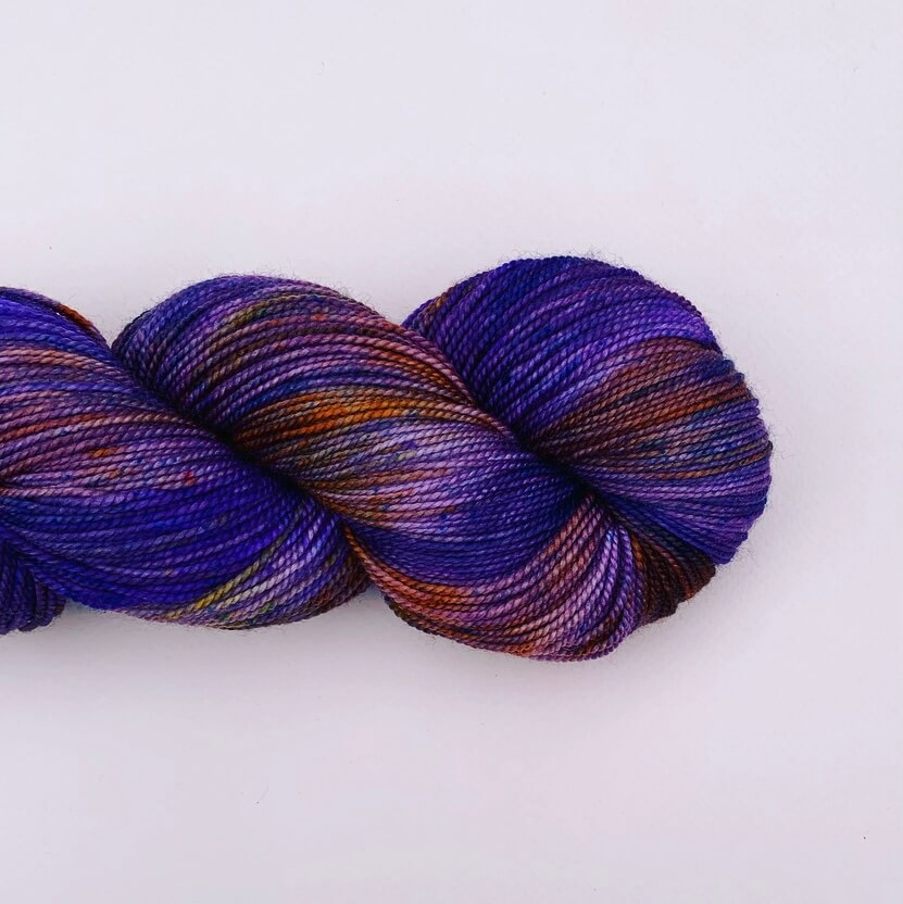 Riotous Sock - Grape Fizz OOAK