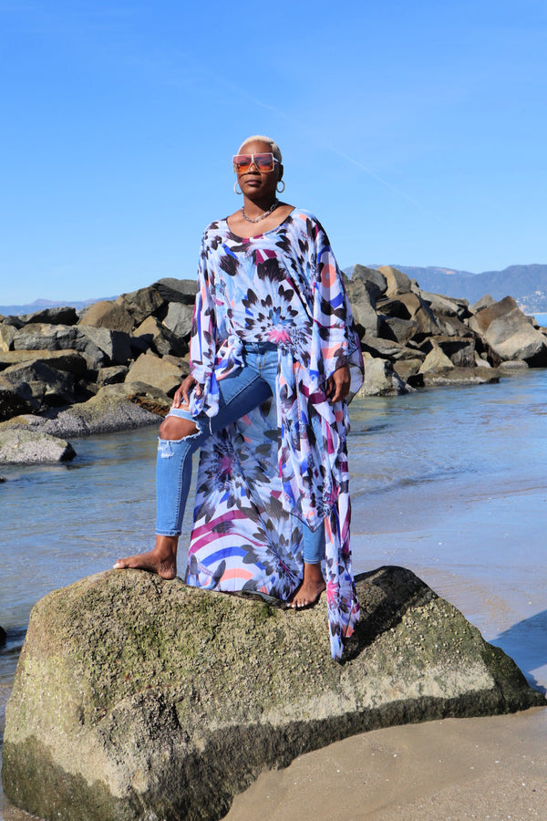 Feeling Blue Kaftan