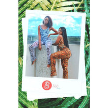 Load image into Gallery viewer, Animal Print Mesh Pants