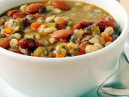 7 Bean and Barley Soup, Organic