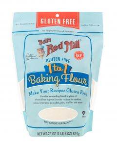 GF 1 TO 1 Baking Flour, Bob's Red Mill