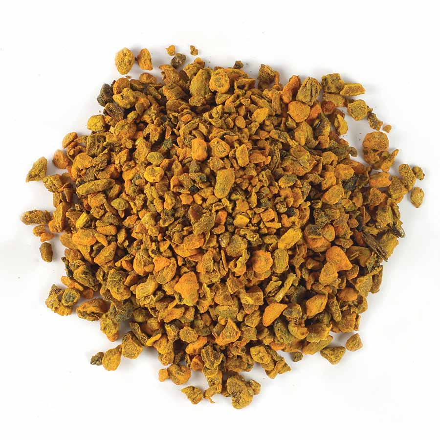 Turmeric Root, Cut & Sifted, Organic [Tea Bag Cut]