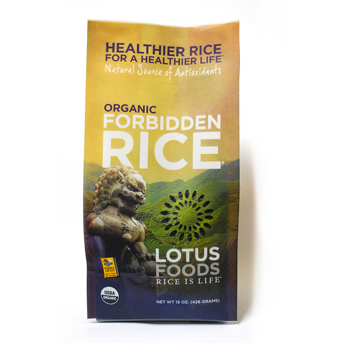 Rice, Forbidden, Organic