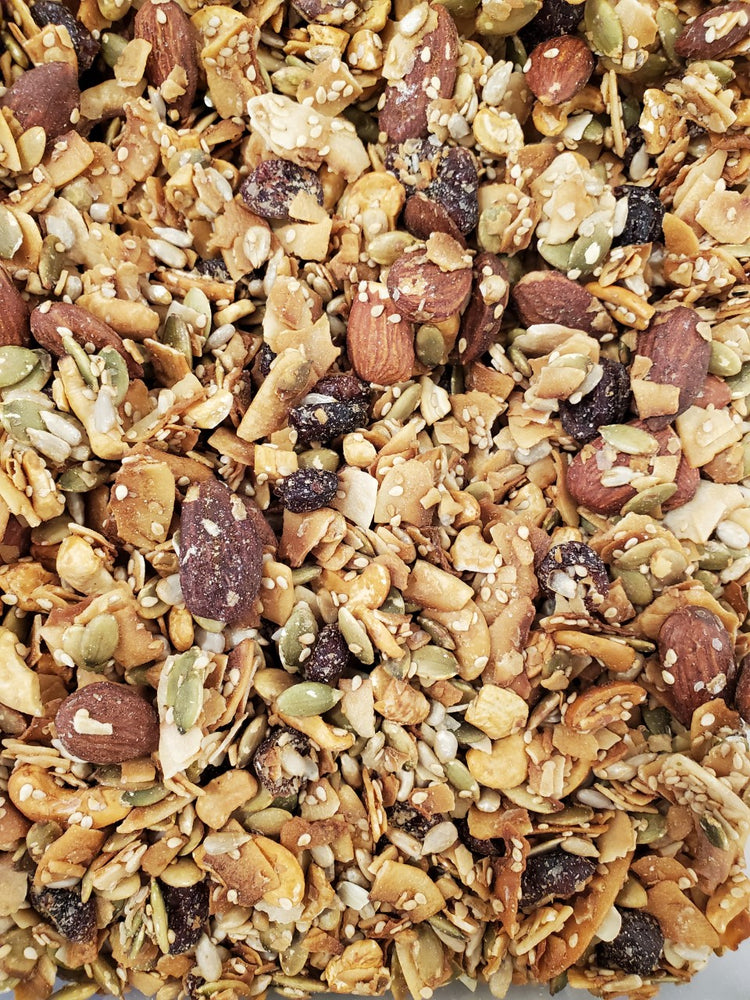 Paleo, Coconut Crunch Granola, GF, Grain Free, Vegan, Organic by Back Roads Granola of Vermont