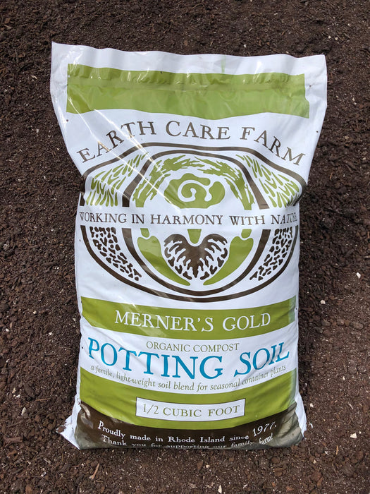 Potting Soil  by Earth Care Farm  .5 cubic foot bag