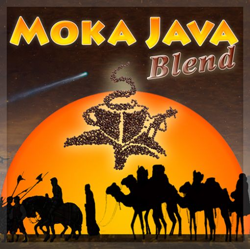 Coffee,  Moka Java Premium Blend by Pierce Bros., Organic