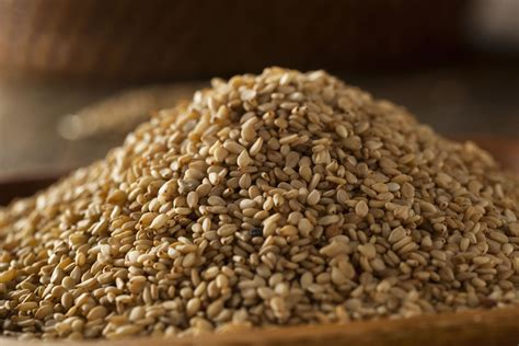 Sesame Seeds, Raw, Unhulled, Organic