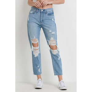 "The ""Charolette"" Girlfriend Jeans"