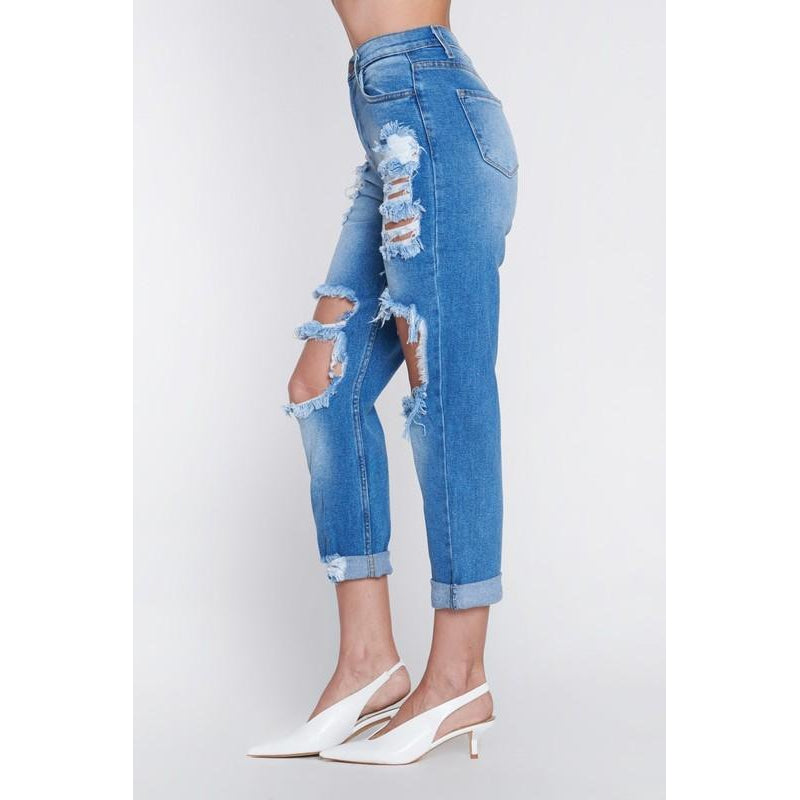 """Kaci"" Girlfriend Jeans"