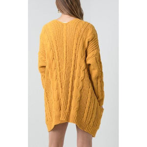 "The ""Sia"" Cable Knit Cardigan"