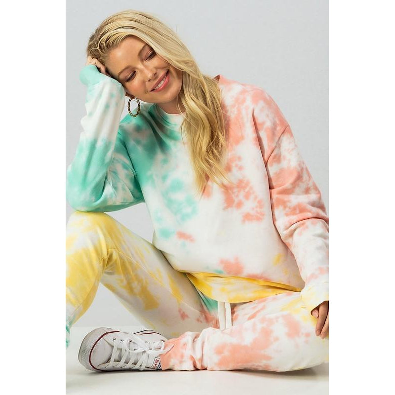 Jillian Tie Dye Sweat suit