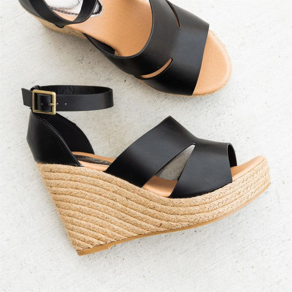 Angelina Wedge Sandals