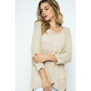 """Lola"" Off the shoulder Sweater"