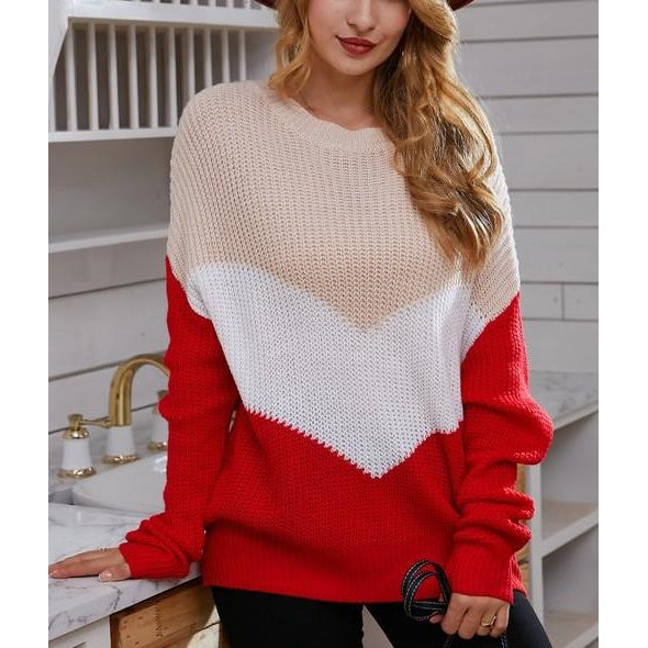 "The ""Gabby"" knit sweater"