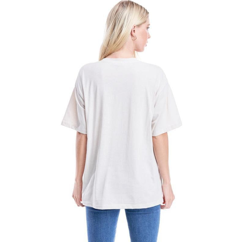 "The ""Jagger"" Oversized Boyfriend T-shirt"