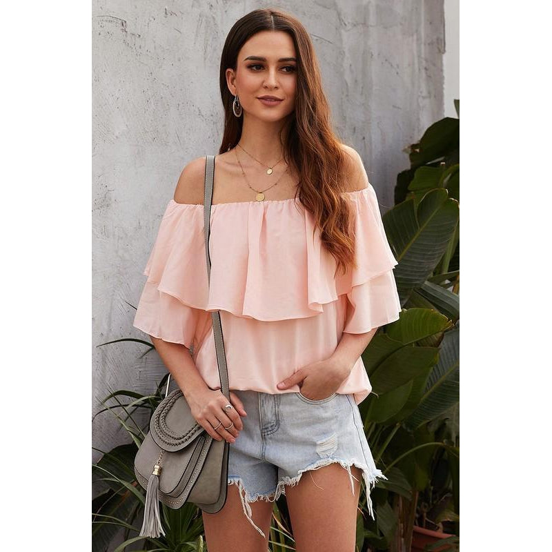 Marley off the shoulder top