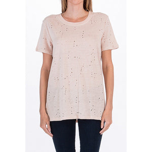 Bella Distressed T Shirt