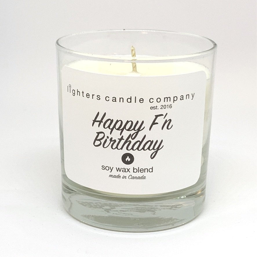 Happy F'n Birthday Candle