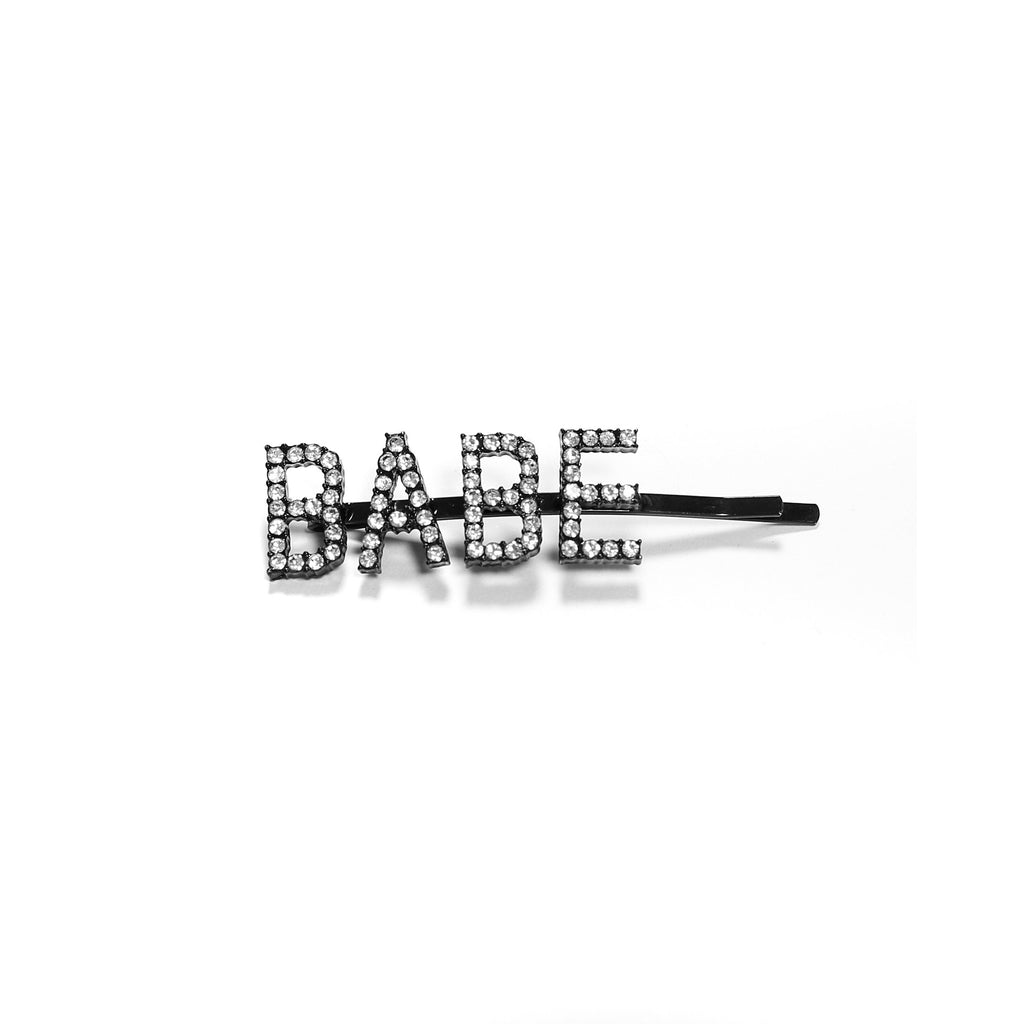 "Brunette the Label The ""BABE"" Hair Clip 